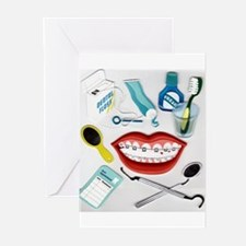 Dentists, Hygienists, Orthodo Greeting Cards (Pk o