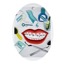 Dentists, Hygienists, Orthodo Oval Ornament