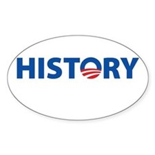 HISTORY Oval Decal