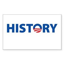 HISTORY Rectangle Decal