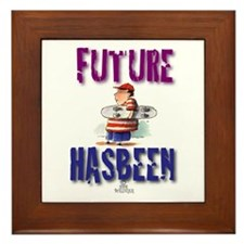Future Skateboarder Framed Tile