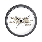 Scary Stories Twilight Quote Wall Clock