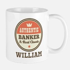 Personalized Banker Gift Mugs