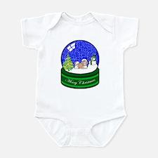 Snow Globe Shih Tzu Infant Bodysuit