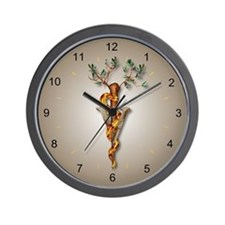 Veterinary Caduceus Wall Clock