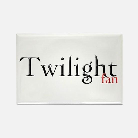 Twilight Fan Rectangle Magnet