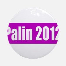 Sarah Palin for President 201 Ornament (Round)