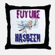 Future Tennis Throw Pillow