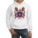 Alderete Family Crest Hooded Sweatshirt