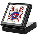 Alderete Family Crest Keepsake Box