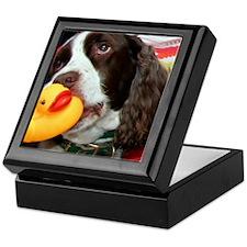 Doggy and Ducky Loving Friends Keepsake Box