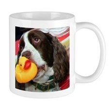 Doggy and Ducky Loving Friends Mug