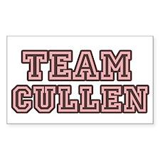 Team Cullen Rectangle Decal