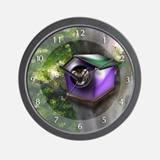 Ferret Tree House Wall Clock