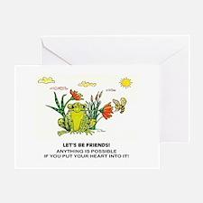 Frog Fun Greeting Card