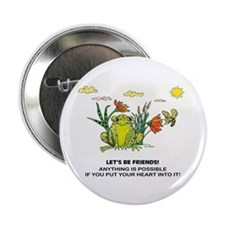 "Frog Fun 2.25"" Button"