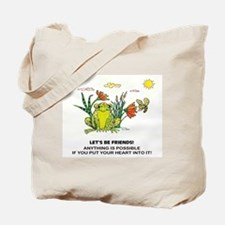 Frog Fun Tote Bag