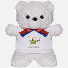 Frog Fun Teddy Bear