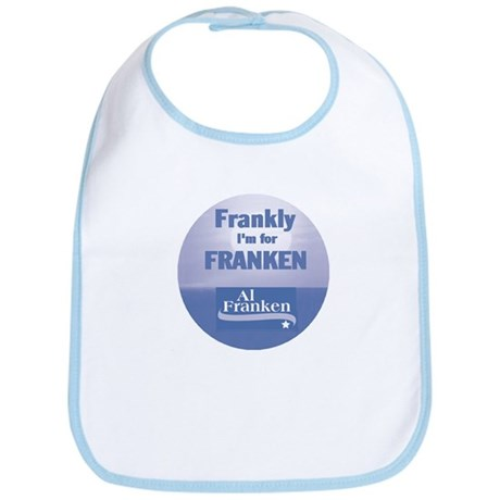 Frankly I'm For Franken Bib