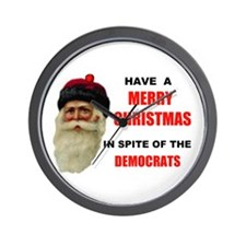 DEMOCRAT GRINCHES Wall Clock