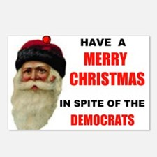 DEMOCRAT GRINCHES Postcards (Package of 8)