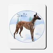 Greyhound Noel Mousepad