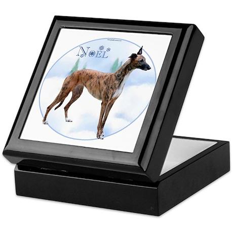Greyhound Noel Keepsake Box