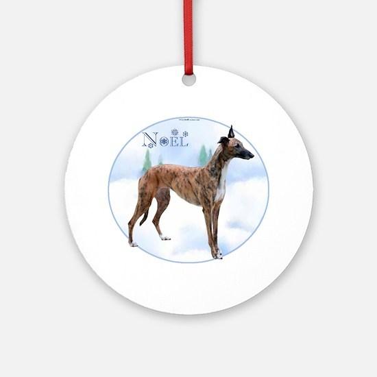 Greyhound Noel Ornament (Round)