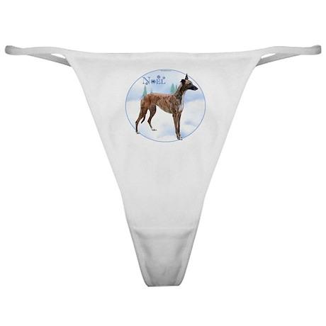 Greyhound Noel Classic Thong
