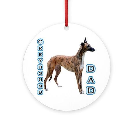 Greyhound Dad4 Ornament (Round)