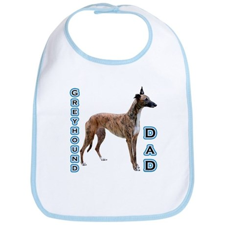 Greyhound Dad4 Bib