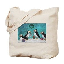 A Puffin Christmas Tote Bag