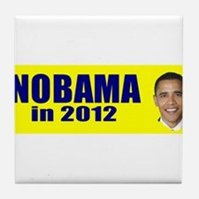Nobama in 2012 Tile Coaster