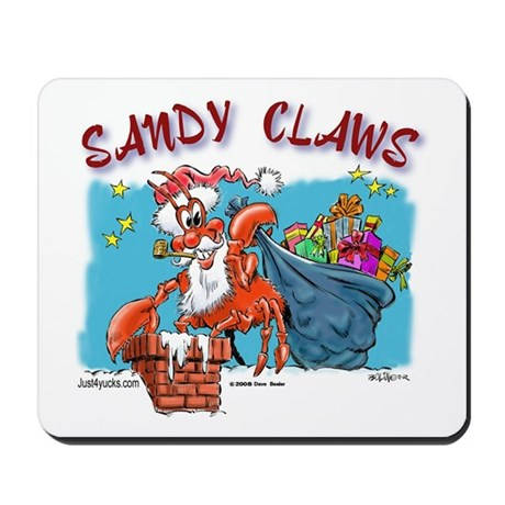 Sandy Claws Mousepad