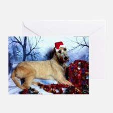 10-Irish Wolfhound Christmas Greeting Cards DS#20h