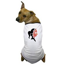 SUNNY GIRL MASK Dog T-Shirt