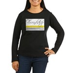 Emerson Quote - Friendship Women's Long Sleeve Dar