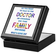 Ask the Family Keepsake Box