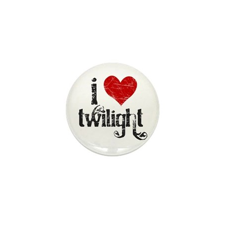 I Heart Twilight Mini Button