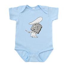 Crispy Toastman Infant Bodysuit