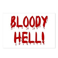 BLOODY HELL! Postcards (Package of 8)