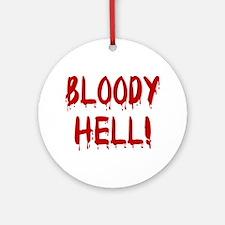 BLOODY HELL! Keepsake (Round)