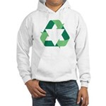 Green Jew Hooded Sweatshirt