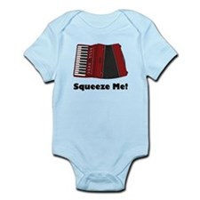 Accordion Squeeze Box Infant Bodysuit