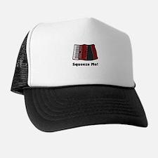 Accordion Squeeze Box Trucker Hat