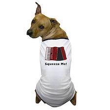 Accordion Squeeze Box Dog T-Shirt