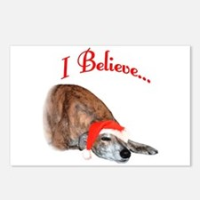 Greyhound I Believe Postcards (Package of 8)
