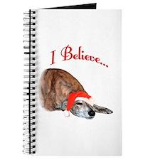 Greyhound I Believe Journal
