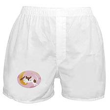 Flying Angel Basset Boxer Shorts