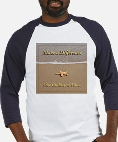 One Child at a Time Baseball Jersey